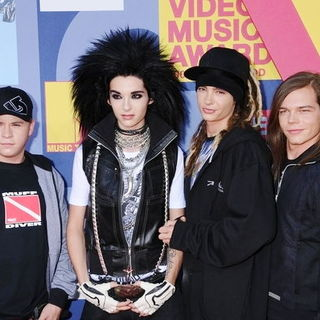 Tokio Hotel in 2008 MTV Video Music Awards - Arrivals