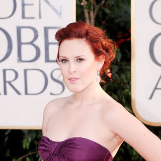 Rumer Willis in 66th Annual Golden Globes - Arrivals