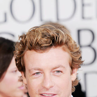 Simon Baker in 66th Annual Golden Globes - Arrivals
