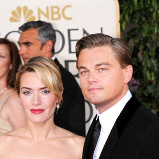 Kate Winslet, Leonardo DiCaprio in 66th Annual Golden Globes - Arrivals