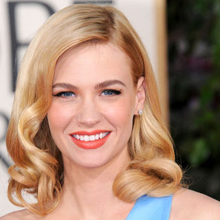 January Jones in 66th Annual Golden Globes - Arrivals