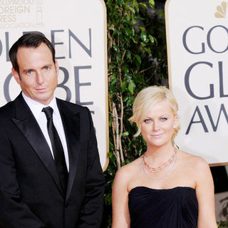 Will Arnett, Amy Poehler in 66th Annual Golden Globes - Arrivals