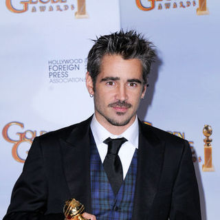 Colin Farrell in 66th Annual Golden Globes - Press Room