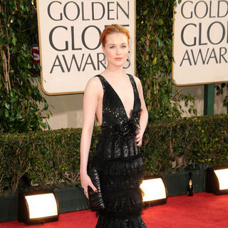 Evan Rachel Wood in 66th Annual Golden Globes - Arrivals