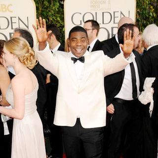 Tracy Morgan in 66th Annual Golden Globes - Arrivals