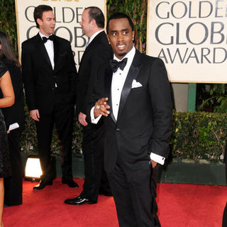 P. Diddy in 66th Annual Golden Globes - Arrivals