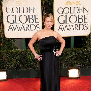 Kate Winslet in 66th Annual Golden Globes - Arrivals