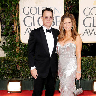 Tom Hanks, Rita Wilson in 66th Annual Golden Globes - Arrivals
