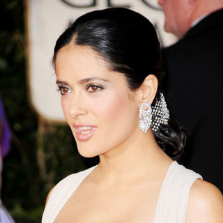 Salma Hayek in 66th Annual Golden Globes - Arrivals
