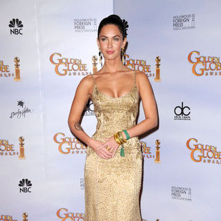 Megan Fox in 66th Annual Golden Globes - Press Room