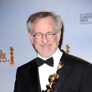 Steven Spielberg in 66th Annual Golden Globes - Press Room