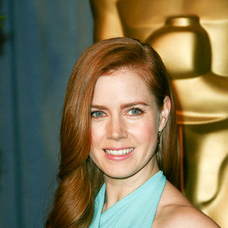 Amy Adams in 2009 Oscar Nominees Luncheon - Arrivals