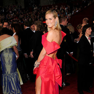 Heidi Klum in 81st Annual Academy Awards - Arrivals