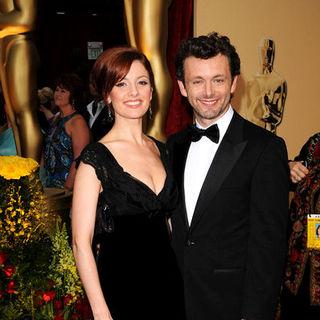 Michael Sheen, Lorraine Stewart in 81st Annual Academy Awards - Arrivals