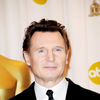 Liam Neeson in 81st Annual Academy Awards - Press Room