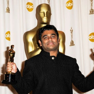 A.R. Rahman in 81st Annual Academy Awards - Press Room