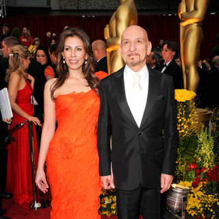 Ben Kingsley, Daniela Lavender in 81st Annual Academy Awards - Arrivals