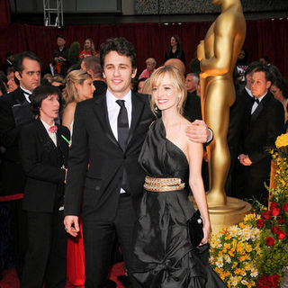 James Franco, Ahna O'Reilly in 81st Annual Academy Awards - Arrivals