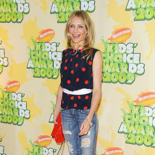 Cameron Diaz in Nickelodeon's 2009 Kids' Choice Awards - Arrivals