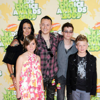 Chester Bennington in Nickelodeon's 2009 Kids' Choice Awards - Arrivals