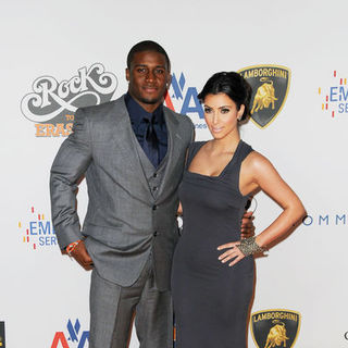 "Reggie Bush, Kim Kardashian in 16th Annual Race to Erase MS ""Rock to Erase MS"" - Arrivals"