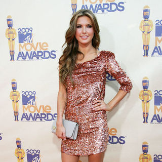 Audrina Patridge in 18th Annual MTV Movie Awards - Arrivals