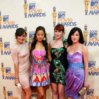 Briana Evigan, Jamie Chung, Rumer Willis, Margo Harshman in 18th Annual MTV Movie Awards - Arrivals