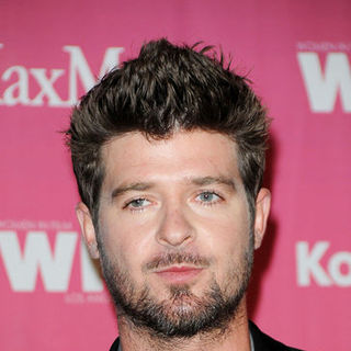 Robin Thicke in Women In Film 2009 Crystal + Lucy Awards - Arrivals