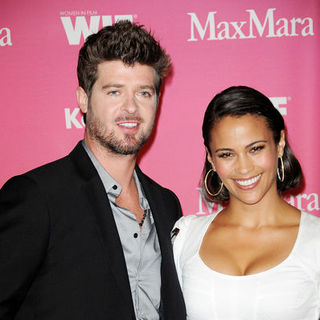 Robin Thicke, Paula Patton in Women In Film 2009 Crystal + Lucy Awards - Arrivals