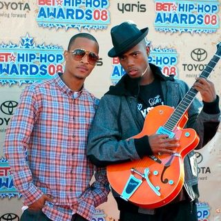 T.I., B.o.B in 2008 BET Hip Hop Awards - Arrivals