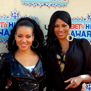 Salt-N-Pepa in 2008 BET Hip Hop Awards - Arrivals - BPJ-000125