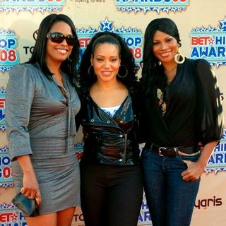 Salt-N-Pepa, Spinderella in 2008 BET Hip Hop Awards - Arrivals