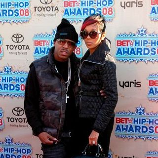 Rocko, Monica in 2008 BET Hip Hop Awards - Arrivals