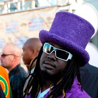 T-Pain in 2008 BET Hip Hop Awards - Arrivals