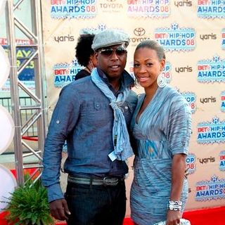 Talib Kweli in 2008 BET Hip Hop Awards - Arrivals - BPJ-000158