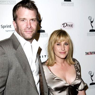 Thomas Jane, Patricia Arquette in The 57th Annual Primetime Emmy Awards Nominee Reception - Arrivals