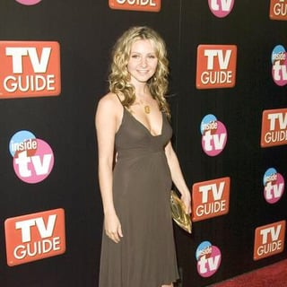 Beverley Mitchell in TV Guide and Inside TV 2005 Emmy After Party - Arrivals