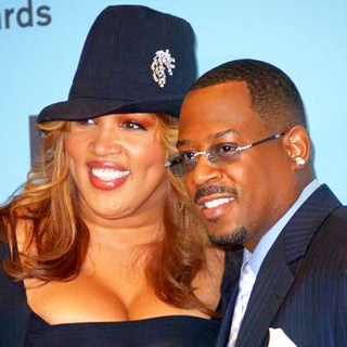 Kym Whitley, Martin Lawrence in 2005 BET Comedy Awards - Press Room