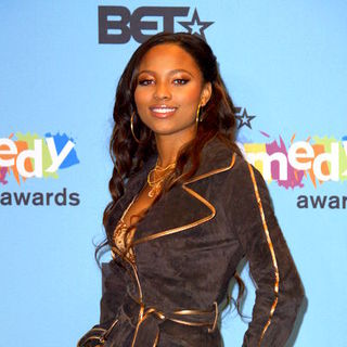 Teairra Mari in 2005 BET Comedy Awards - Press Room