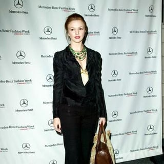 Amber Tamblyn in Mercedes-Benz Spring 2006 L.A. Fashion Week at Smashbox Studios - Day 2 - Arrivals