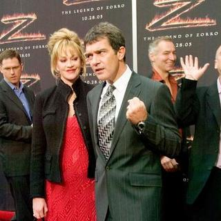 Antonio Banderas, Melanie Griffith in The Legend of Zorro Los Angeles Premiere - Red Carpet