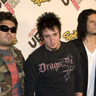 Papa Roach in 2005 Spike TV Video Game Awards - Arrivals - CSH-005818