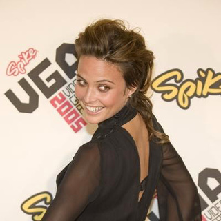 Josie Maran in 2005 Spike TV Video Game Awards - Arrivals - CSH-005892