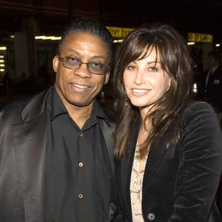 Gina Gershon, Herbie Hancock in 2nd Annual Grammy Jam Hosted by The Recording Academy and Entertainment Industry Foundation - Arriva
