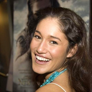 Q'Orianka Kilcher in 17th annual Palm Springs International Film Festival Opening night film The New World