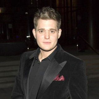 Michael Buble in 2006 Warner Music Group Grammy After Party