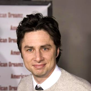 Zach Braff in American Dreamz World Premiere in Los Angeles