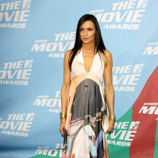Famke Janssen in 2006 MTV Movie Awards - Arrivals