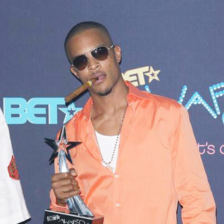 T.I. in 2006 BET Awards - Press Room - CSH-014440