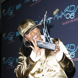Missy Elliott in 2006 BET Awards - Press Room